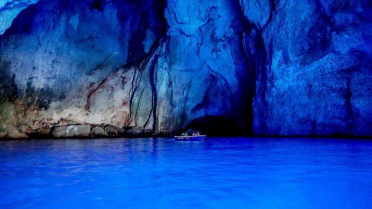 KASTELLORIZO THE BLUE CAVE